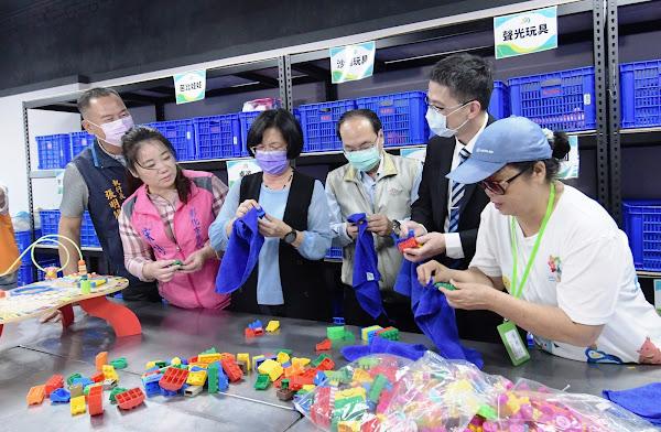彰化二手玩具物流中心 玩具回收減塑做環保