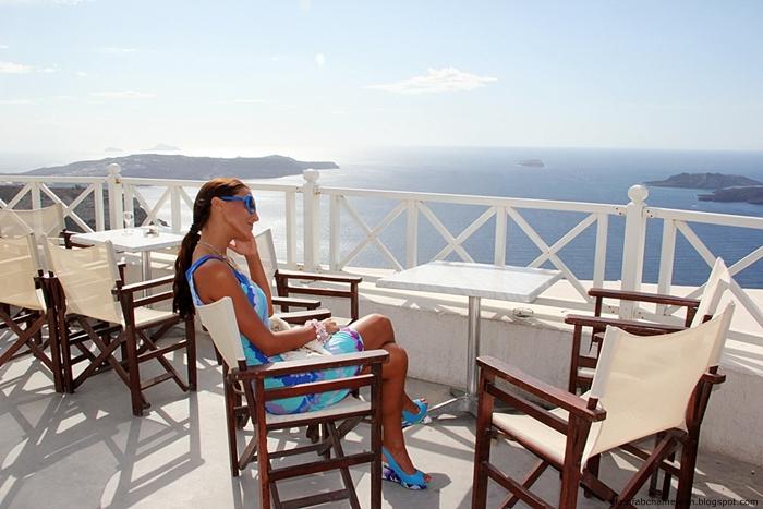 visit to Santo wines in Santorini