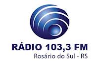 Rádio 103,3 FM 103,3 de Rosário do Sul RS
