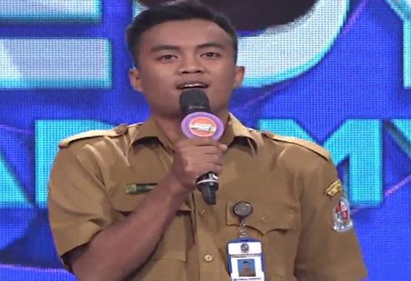 eza ajog Peserta SUCA 3 Indosiar Tadi Malam 6 September 2017