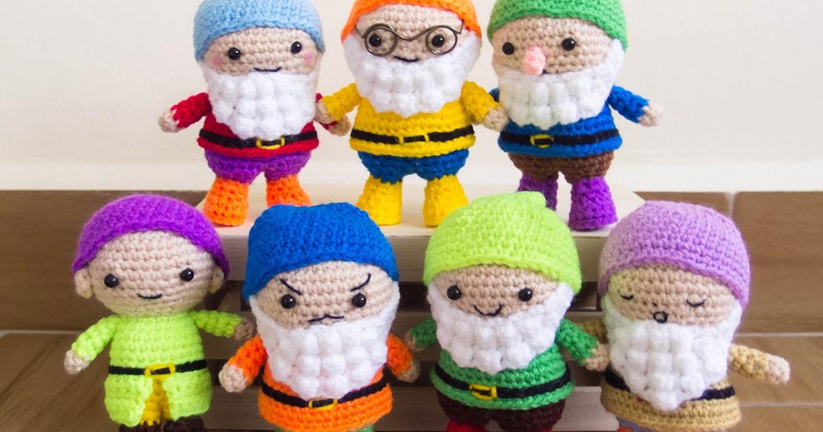 Amigurumi Patterns Disney : Seven dwarfs crochet amigurumi pattern free snacksies