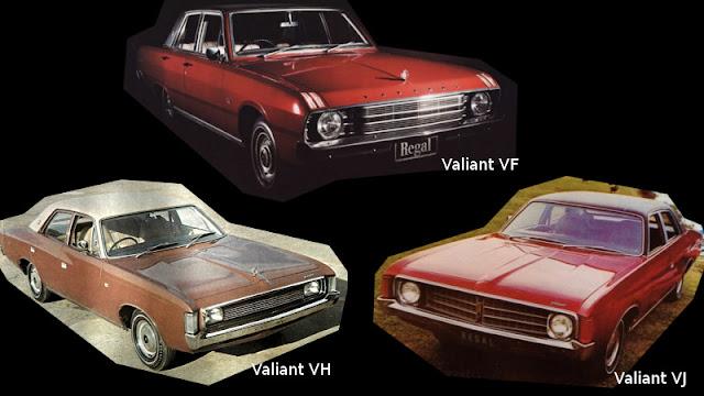 Valiant VF, VH, VJ