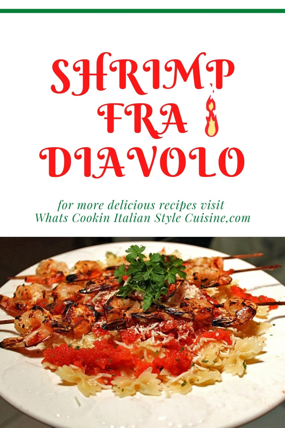 this is how to make Shrimp diavolo pin for later