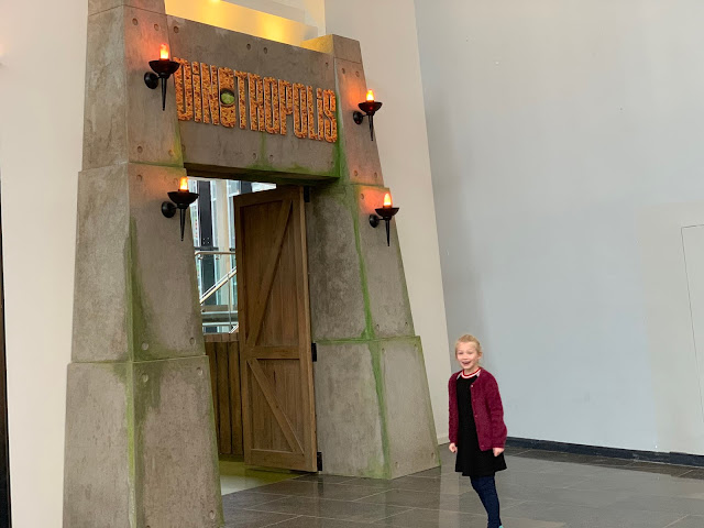 The entrance to Dinotropolis at Bluewater Shopping Centre