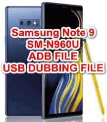 Samsung Note 9 SM-N960U Adb / Usb Debuggin Enable File Download For FRP Remove