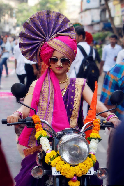 gudi padwa maharashtra women image