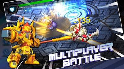 Herobots Build to battle Mod Unlimtied Energy