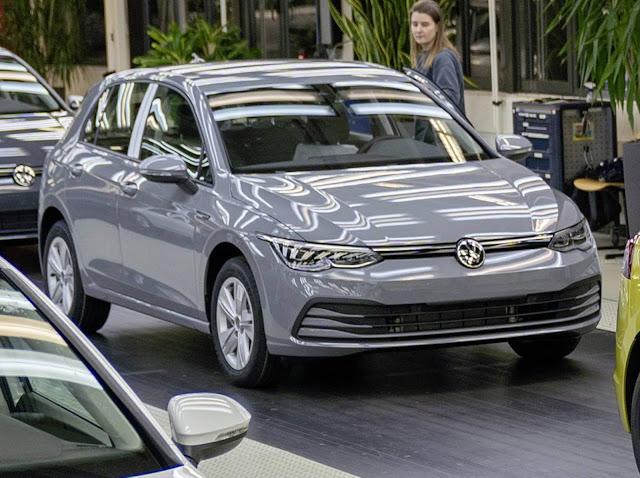 VW Golf 2020 Mk8