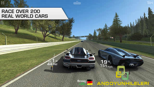 Real Racing 3 Para Ve Araba Hileli APK