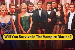 Take The Quiz to See if You Can Survive in The Vampire Diaries?