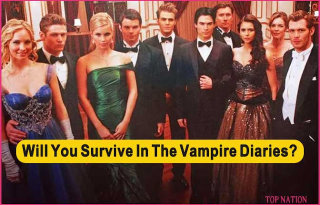 Let's See if You Can Survive in The Vampire Diaries?