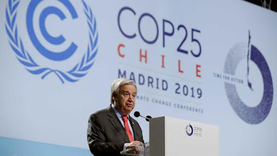 Secretário Geral da Onu Antonio Guterres