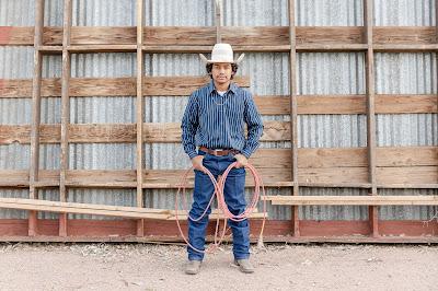 Young Cowboy Roper