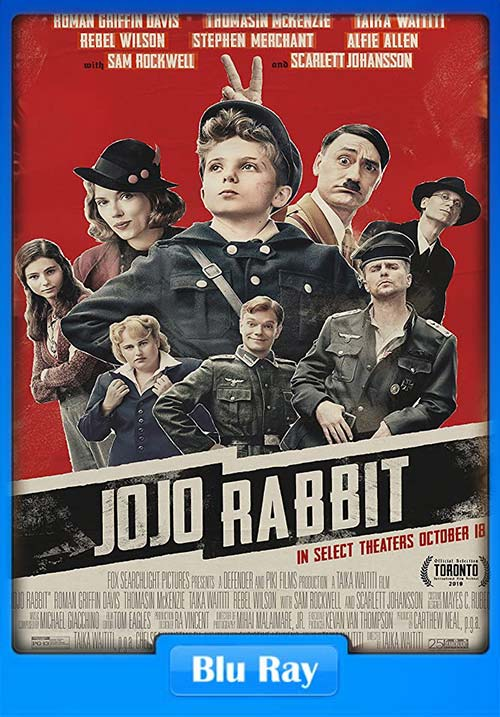 Jojo Rabbit 2019 720p BluRay Dual Audio Hindi x264 | 480p 300MB | 100MB HEVC