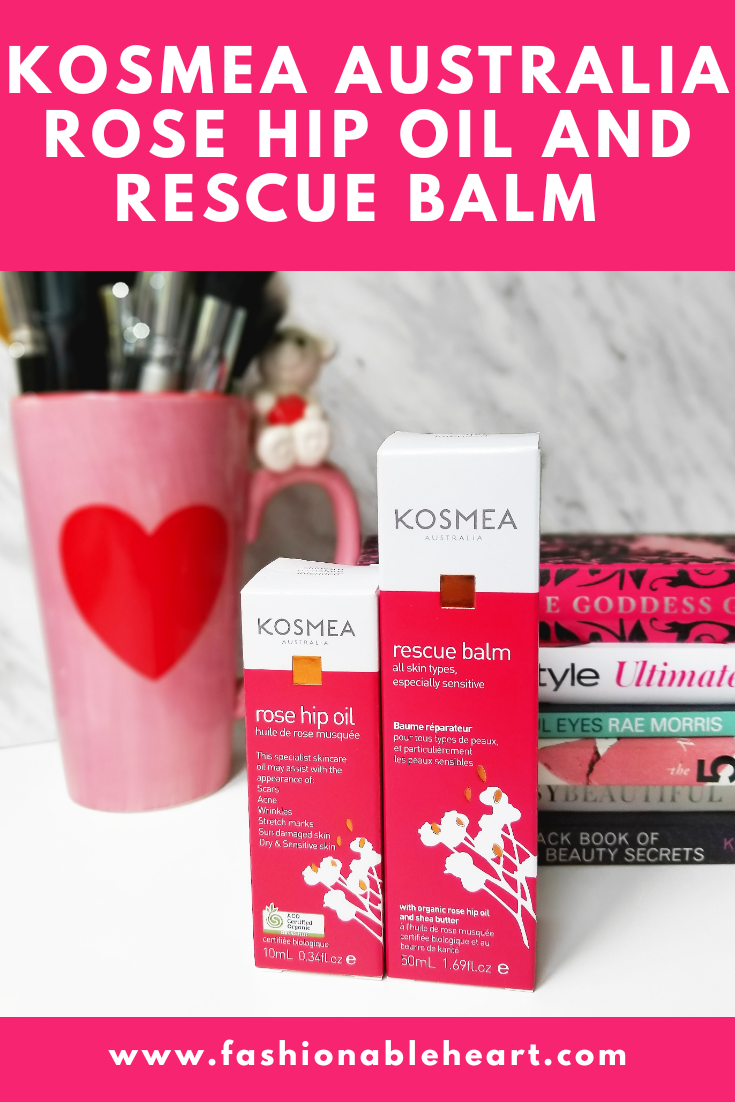 bblogger, bbloggers, bbloggerca, canadian beauty bloggers, beauty blog, skincare, dry skin, sensitive, rose hip oil, rose hip seed oil, carrier oil, rescue balm, scar cream, kosmea, kosmea australia, abundance naturally, sunburn, diaper rash, acne scars, benefits, dandruff, review