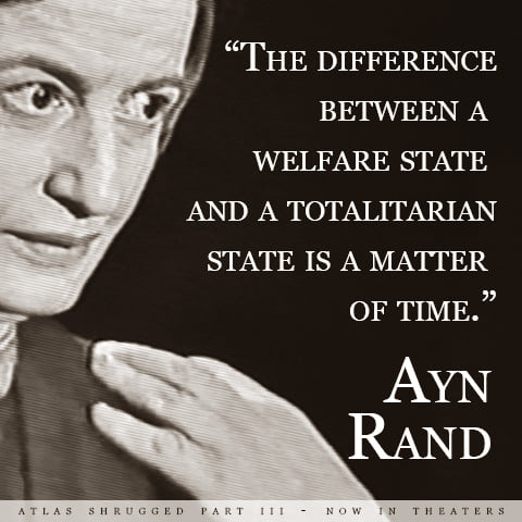 The Welfare State Becomes the Totalitarian State