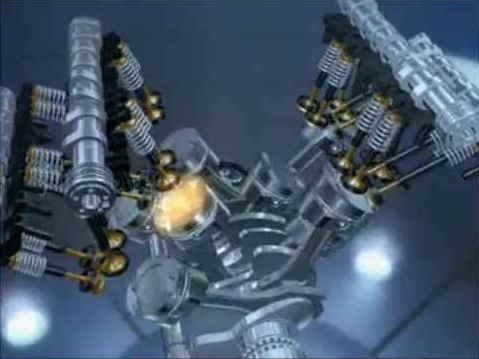 Animation  Volkswagen's W8 Engine | The Car Hobby