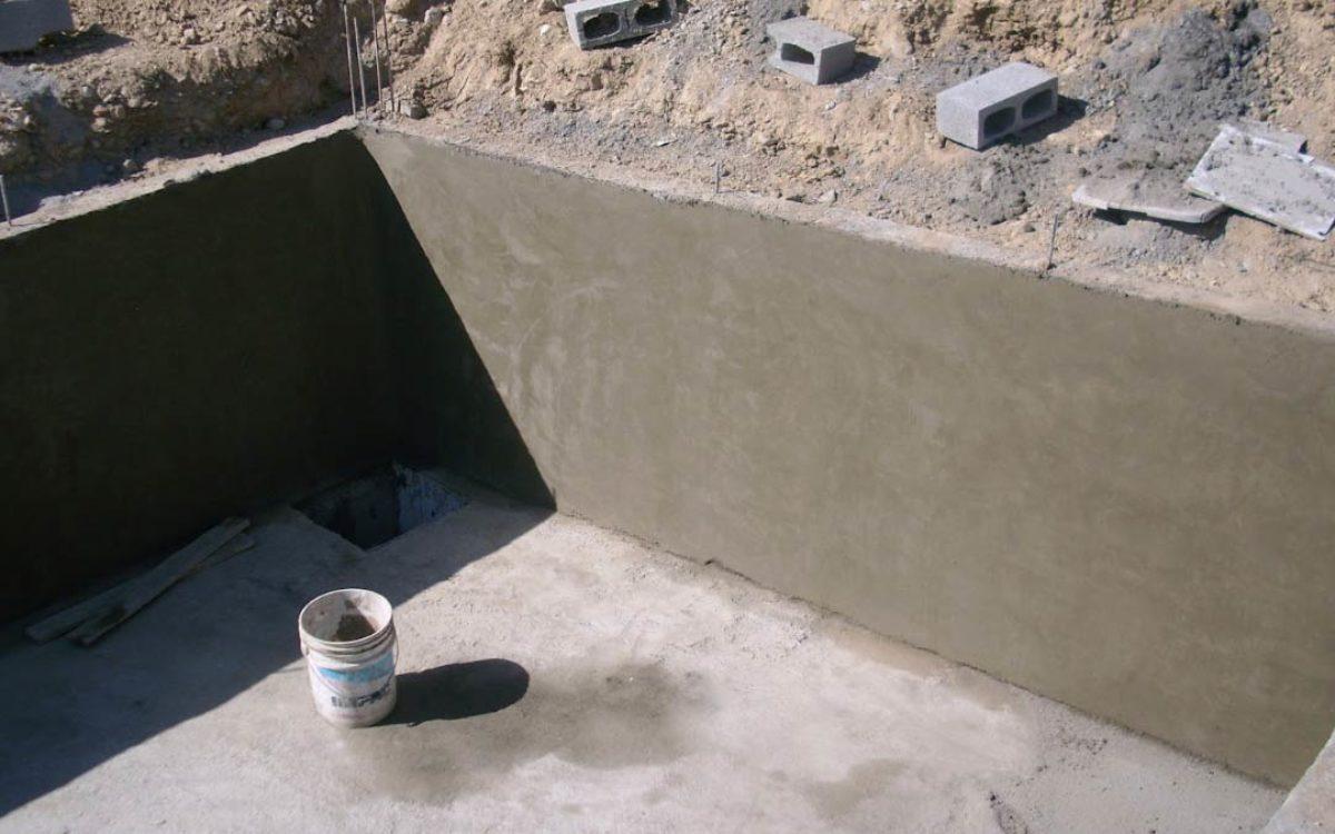 Tanques subterraneos de almacenamiento de agua