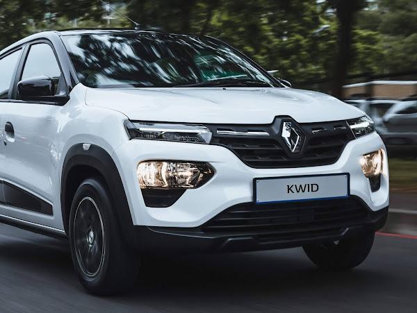 Novo Renault Kwid 2022 - novo design da dianteira e novo motor