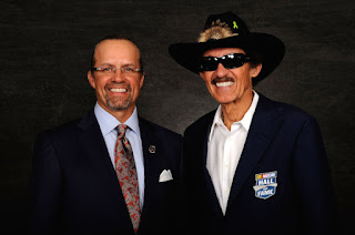 Kyle Petty with his father Richard, the King of #NASCAR