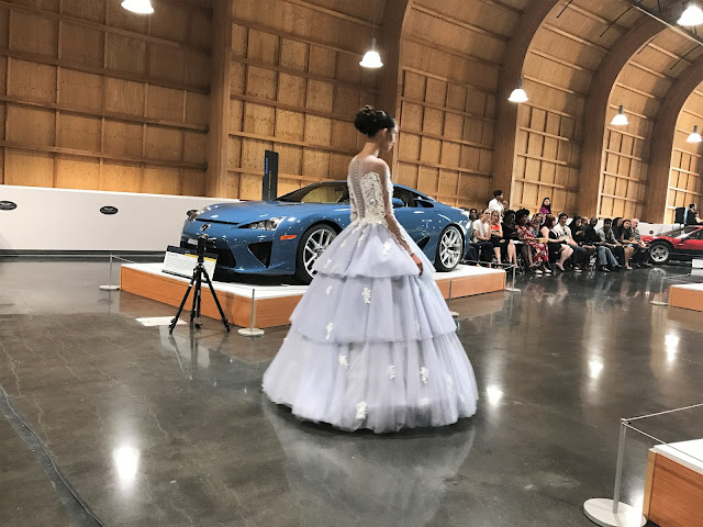 LeMay Car Museum: High Couture Fashion Meets Exotic Car Runway