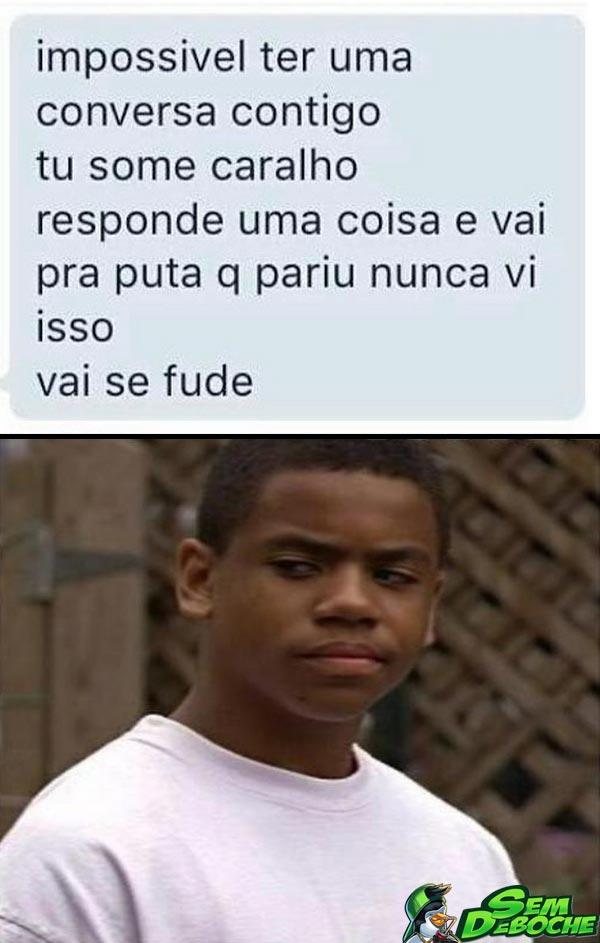 AMIGO IRRITADO