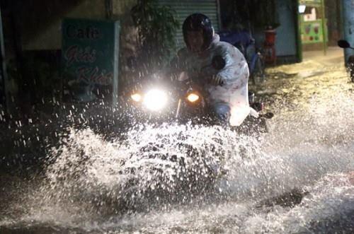 Ngập ở Hồ Chí Minh