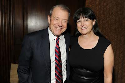 Deborah Varney with her ex-husband Stuart
