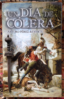 Portada del libro Un día de cólera, de Arturo Pérez-Reverte
