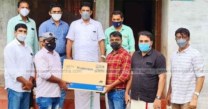 Vidyamitram Project: Ajanur Lions Club sponsored tv for needed