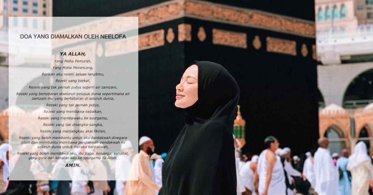 Doa Murah Rezeki Amalan Neelofa