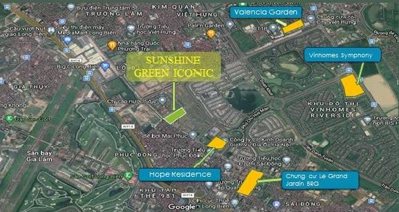 Thiết kế căn hộ Dự án chung cư Sunshine Green Iconic Nguyễn Lam Phúc Đồng Long Biên Hà Nội
