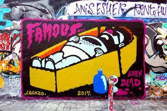 Sunday Street Art : J. Gonzo - rue Dénoyez - Paris 20