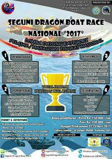 Lomba Dayung Tingkat Nasional 2017 di Universitas Hang Tuah Surabaya