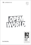 Open World First B2 Workbook | PDF + CD