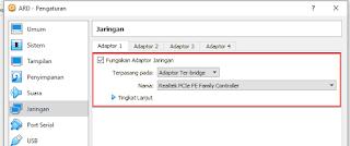 Cara Lengkap Instal Aplikasi ARD V 2.0 Pada Virtual Box Terbaru