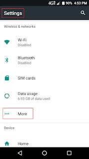 mobile settings, mobile troubleshoot, technical, stuff