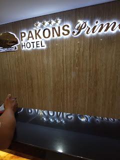 menginap di Pakons Prime Hotel Tanggerang