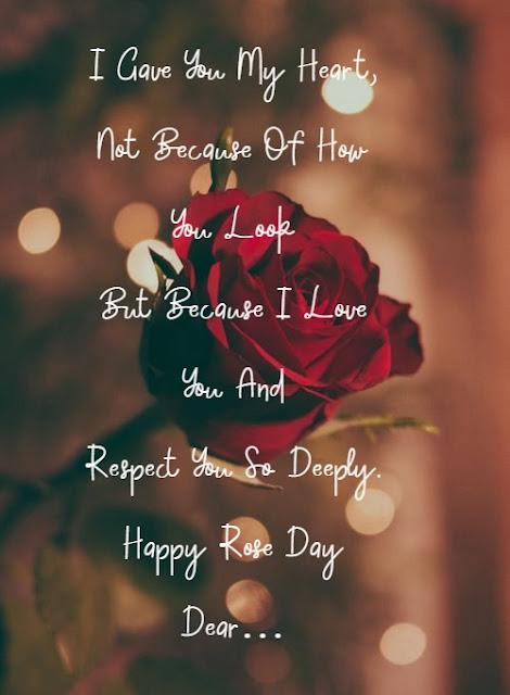 Rose Day couple image