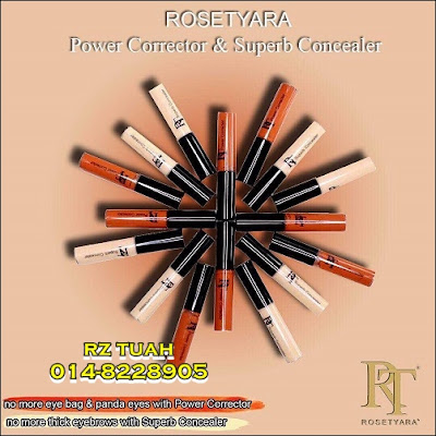rosetyra foundation cc cream corrector concealer