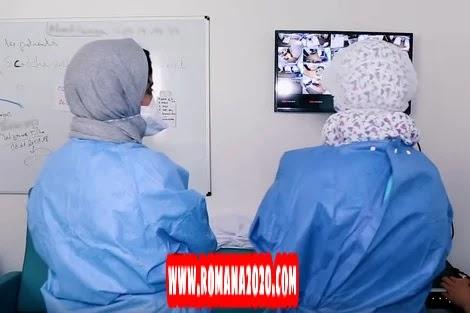 أخبار المغرب: فحوصات ترصد فيروس كورونا بالمغرب covid-19 corona virus كوفيد-19 في مصنع شكولاطة بالدار البيضاء
