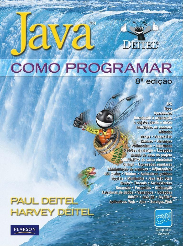 Download java como programar deitel 8 edi o ptbr for Como programar en java