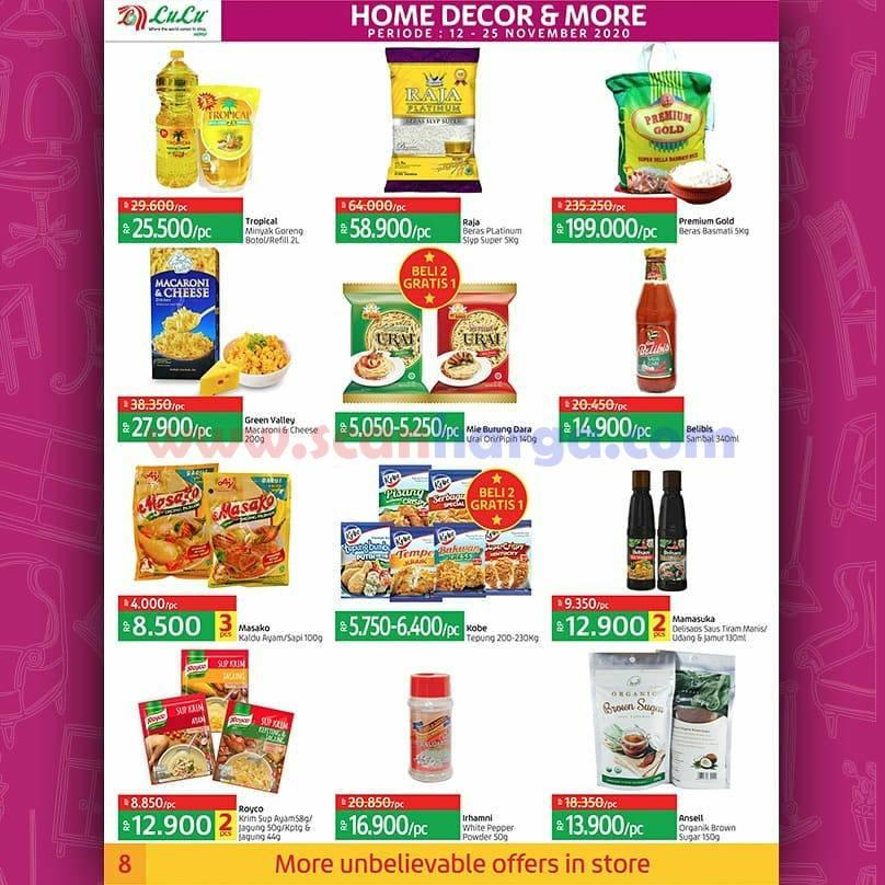 Katalog Promo LULU Supermarket 12 - 25 November 2020 8