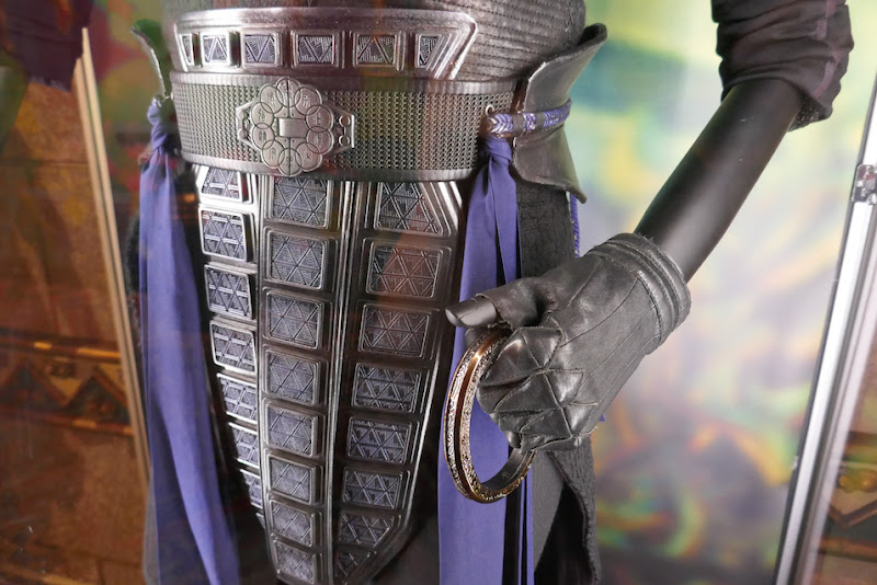 Shang-Chi Ten Rings Wenwu costume detail