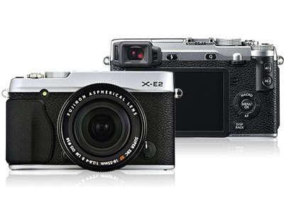 Fujifilm X-E2ミラーレスデジタルカメラファームウェアのダウンロード