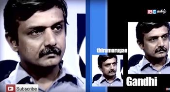 Interview with Thirumurugan Gandhi 30-09-2016 IBC Tamil Tv