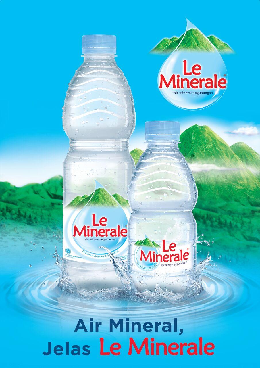 Le Minerale Air Minum Le Minerale