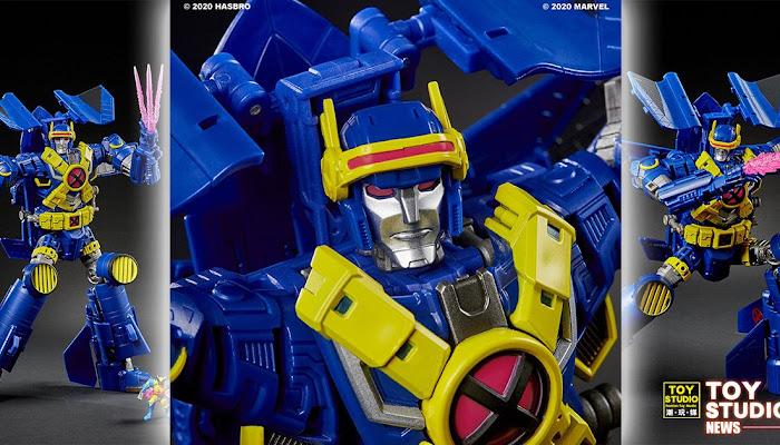 [迪士尼宇宙] HASBRO《變形金剛》×《X戰警》聯名商品「Ultimate X-Spanse」全新變形金剛玩具
