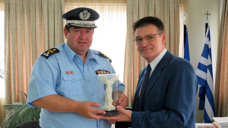 Επίσκεψη Γενικού Επιθεωρητή Αστυνομίας Βορείου Ελλάδος στον Αντιπεριφερειάρχη Έβρου
