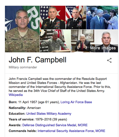 InstaScams: General John F Campbell SCAMMED
